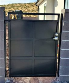 Upgrade to greasable, adjustable hinges and lock box with latch and or a deadbolt for security.